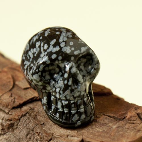 Sneeuwvlok Obsidiaan skull