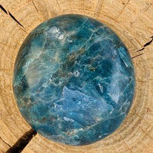 Blauwe Apatiet Handsteen