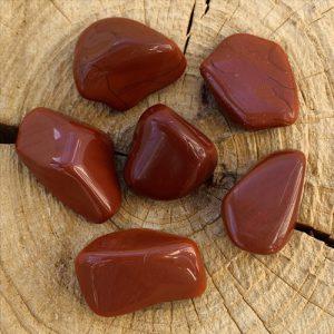 Rode Jaspis knuffelsteen