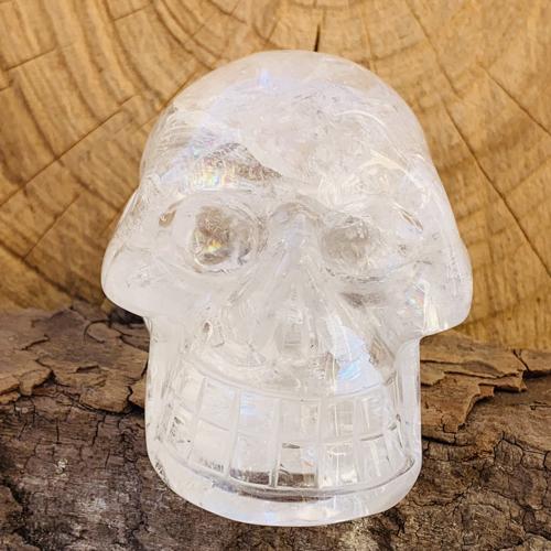 Bergkristal human skull