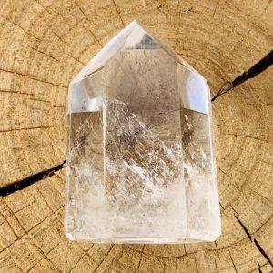 Bergkristal gepolijst punt
