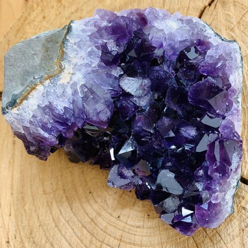 Amethist cluster mineraal