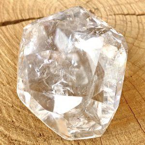 Bergkristal facetteerd kwarts