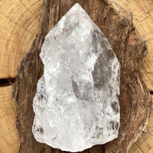 Bergkristal ruw met punt