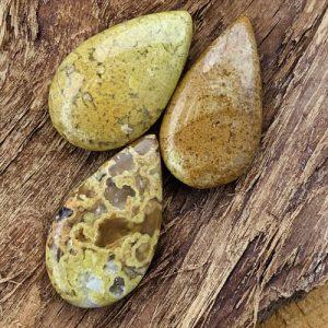 Groene Opaal druppelhanger