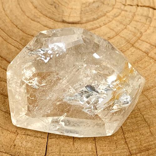 Bergkristal 62 gram gefacetteerd