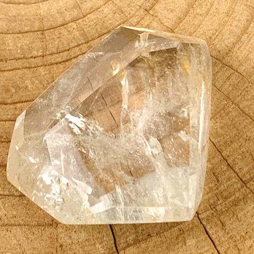 Bergkristal geslepen facet extra kwaliteit