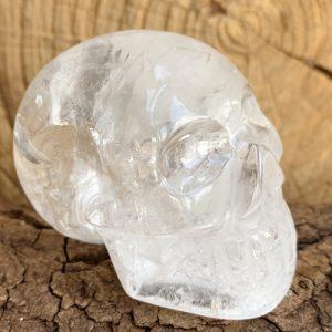 Bergkristal schedel skull 5 cm hoog