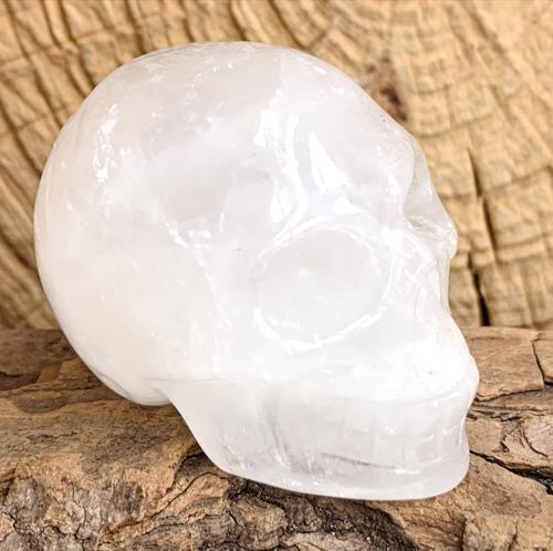 Bergkristal schedel 100 gram