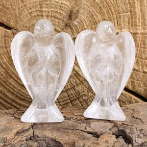 Bergkristal engel 5 cm